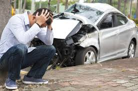 upset man in car accident needs attorney